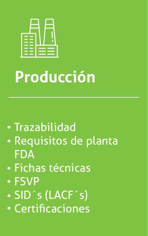 Producción FBS